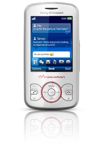 Sony Ericsson's Spiro Walkman