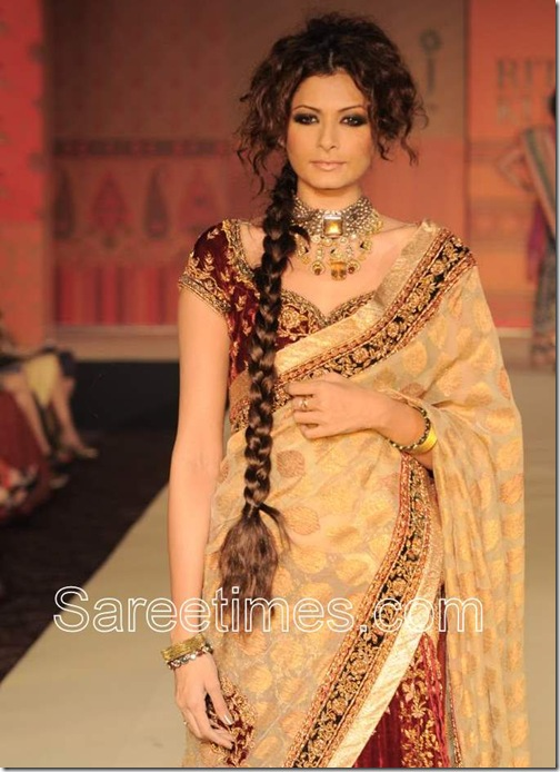 Gold_Designer_Saree