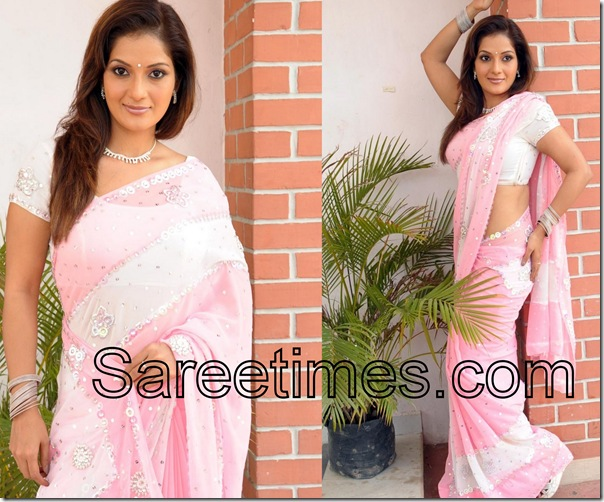 Ruthika_Pink_Saree
