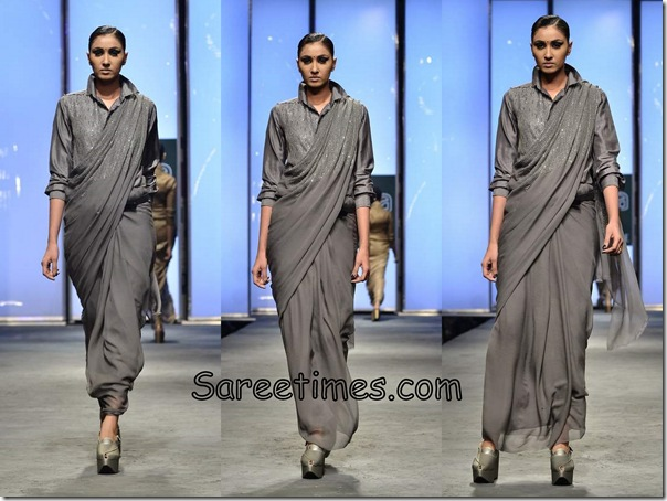 Abraham_and_Thakore_Grey_Designer_Saree