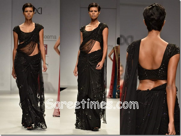 Swapan_Seema_Black_Saree