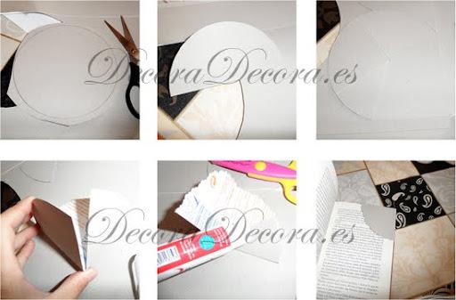 reciclando carton o papel necesitamos carton o papel tijeras adhesivo