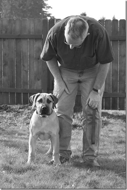 Grandpa's Dog 004