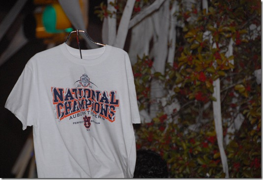 tshirt at toomer's
