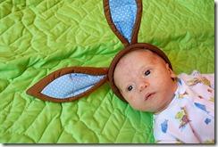 J with ears