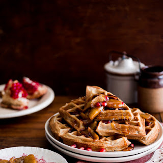 Apple Cider Waffles