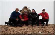 Marboré mendiaren gailurra 3.248 m.  -  2008ko uztailaren 26an