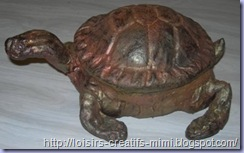 tortue en powertex