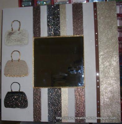 Cadre Miroir Créa de Mimi