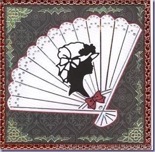 carte silhouette dame
