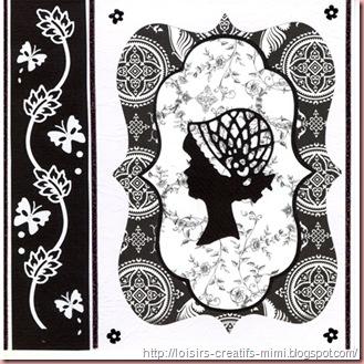 carterie créative noir & blanc