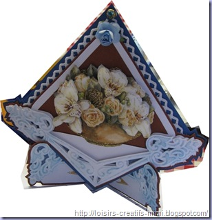 carte 3D fleur star collection PD0015