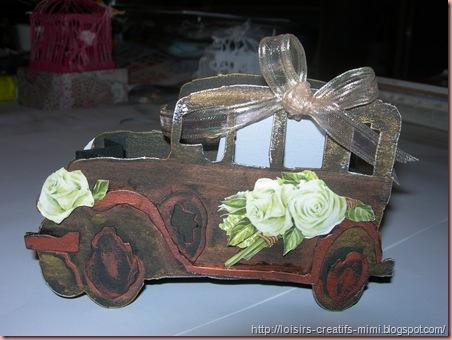 carte voiture sombre mariage