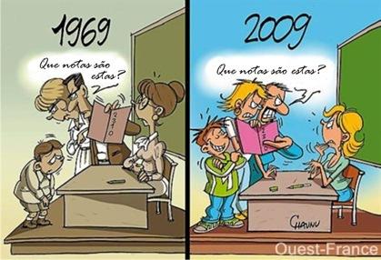 educação charge