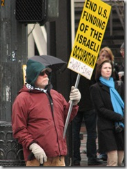 St.Pats Day and Gaza protest 022