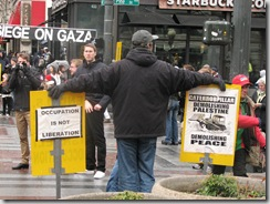 St.Pats Day and Gaza protest 113