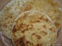 Peanut Pancake or Groundnut Obbattu/Holige