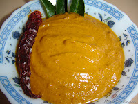 Ridge Gourd Chutney or Hirekai Gojju