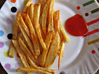 Potato Finger Chips or French Fries