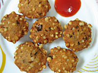 Sabudana Vada (Sago Patties) or Sabakki Vada