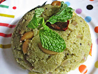 Pudina Upma or Uppittu