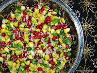Corn Pomegranate Kosambari Salad