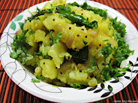 Aloo Sabzi/Sabji or Potato Sabzi/Sabji
