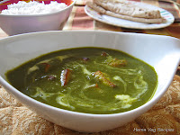Palak Paneer or Spinach Curry