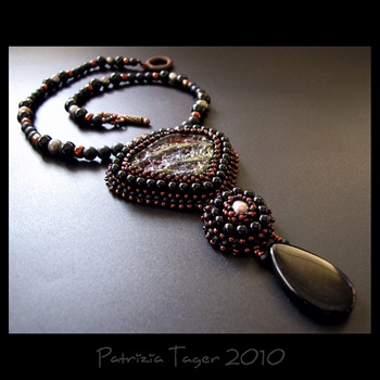 Volcanic Rock - OOAK Necklace 04 copy