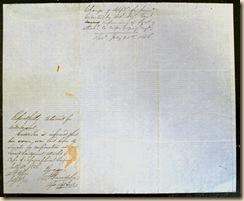 Poe Davis letter back