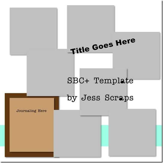 Jess Scraps Templates - Page 004