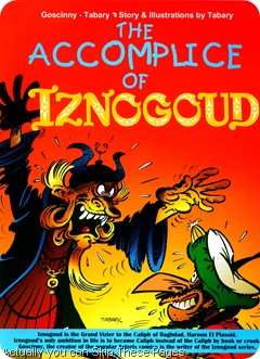 The accomplice of iznogoud cover