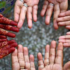 by Dipali S - People Body Parts ( mehndi, corporate, body parts, hands, humans, group, tattoo )