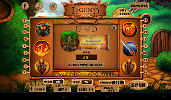 Screenshot of The Legend Slot