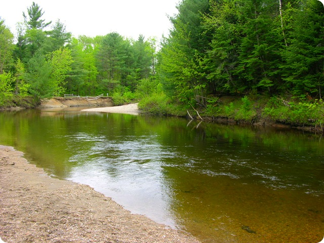Schroon River At Paradise Pines