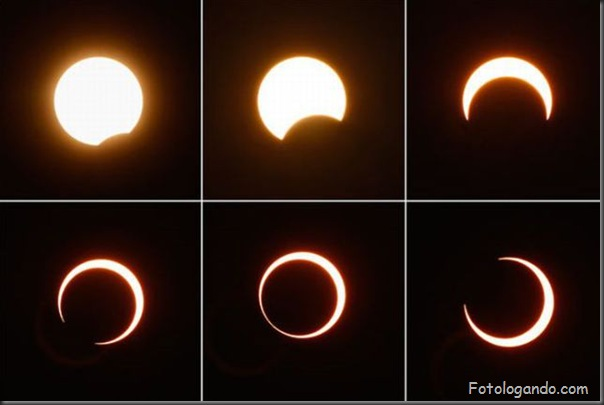 Um Eclipse Solar Surpreendente