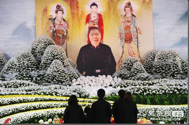 funeral de chefe de máfia de Taiwan (8)