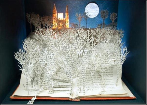 Esculturas com livros (15)