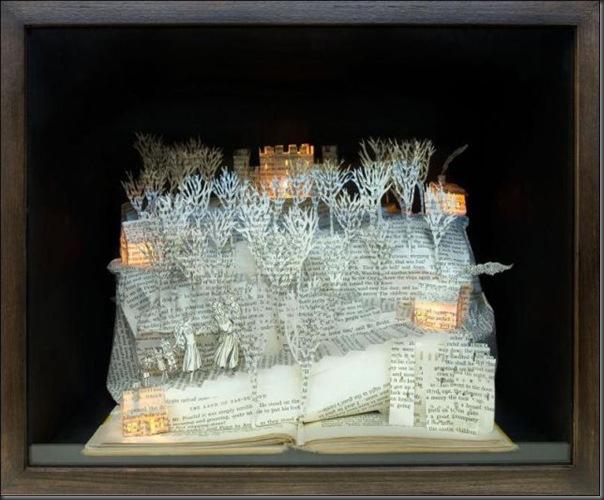 Esculturas com livros (14)