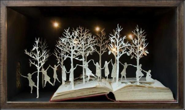 Esculturas com livros (13)