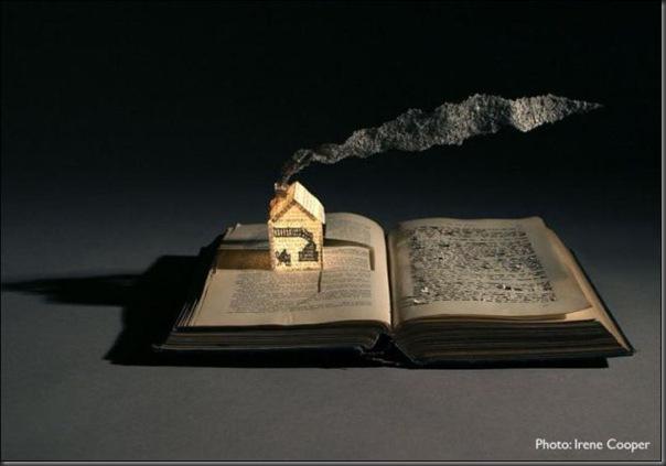 Esculturas com livros (5)
