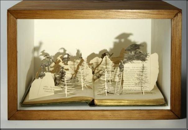 Esculturas com livros (3)