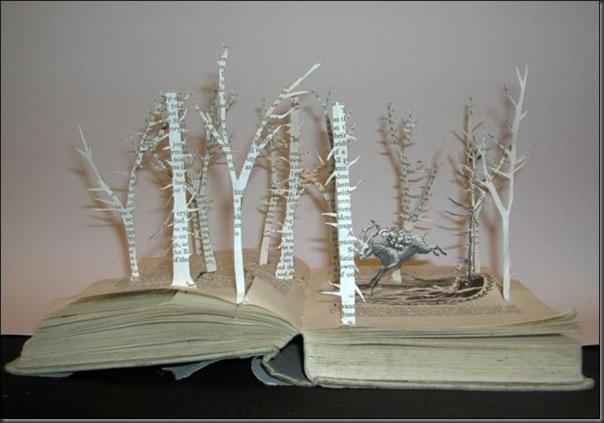 Esculturas com livros (2)