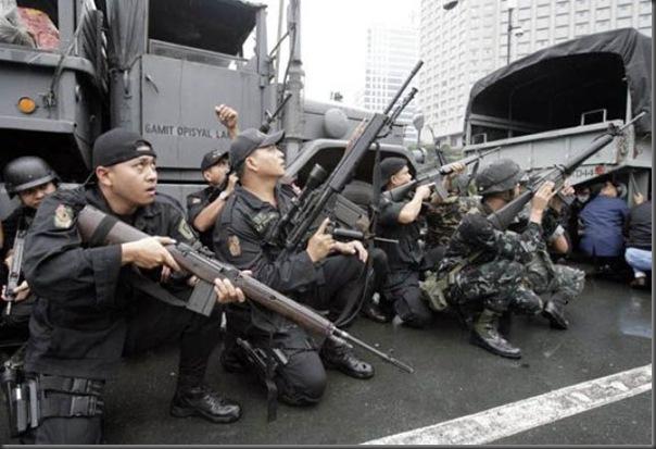 Fotos de forças especiais de diferentes países em ação (32)