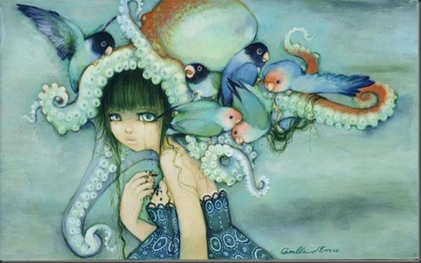 Lindas pinturas de Camilla d'Errico (3)