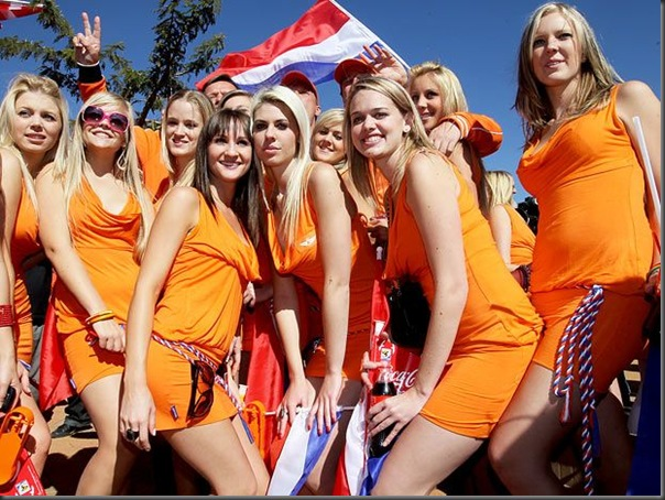 Belas torcedoras holandesas