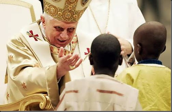 As várias faces de Papa Bento XVI