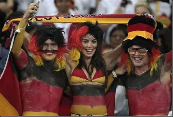 Fantasias loucas e engraçadas na copa do mundo da África do Sul (1)