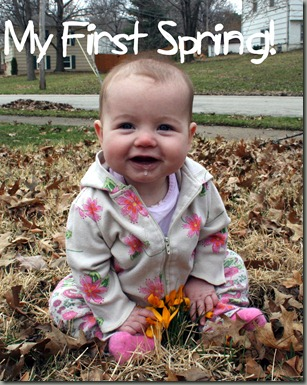 Sylvie's first spring!
