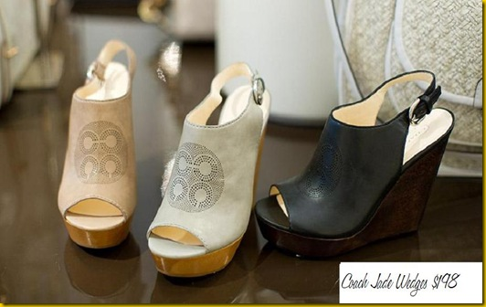 Coach Jade Wedges